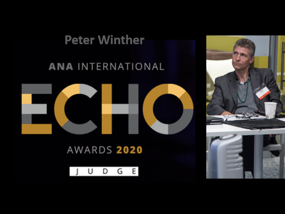 ECHO Awards udpeger Peter Winther som dommer